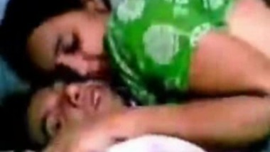 Indian couple make out In the bedroom