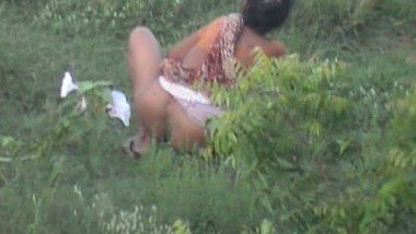 Village Woman Caught Peeing 3