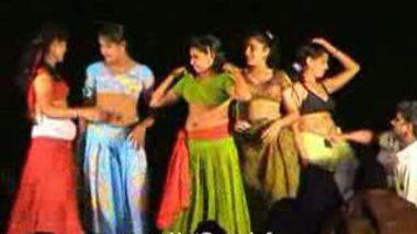 Telugu Hot Girls Night stage dance 19