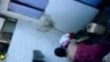 Neighbor Girl Aruna Bathed