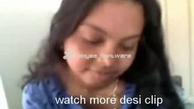 Desi Indian Student Girl With Boyfriend