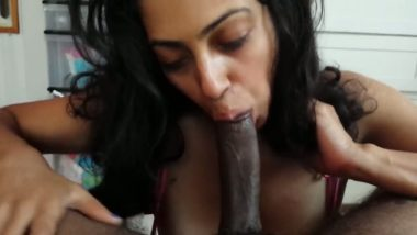 Indian office girl hot blowjob session with long big cock
