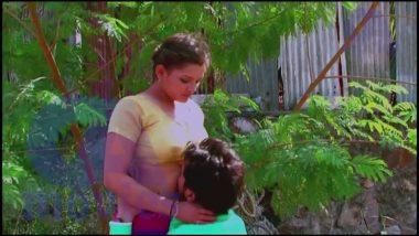 Outdoor desi masala smooch and foreplay scene