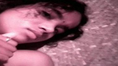 Village teen naked exposure & handjob with cousin