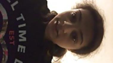 brunette teen selfie part 2