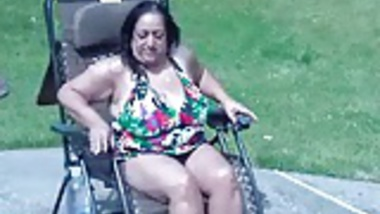 Me and My 46yr old Busty Indian Fuck Friend At The Pool
