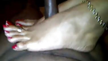 Long toenail Indian fj