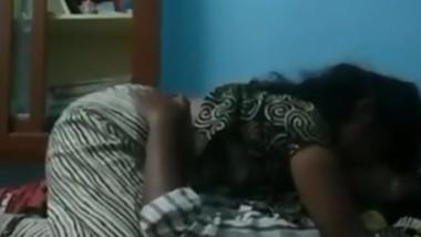 Indian Milf wife seducing her husband on cam