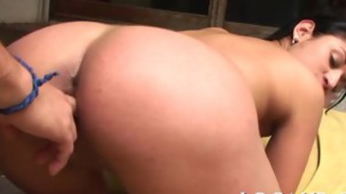 Gal is riding on a thick pecker