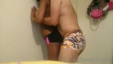 Desi hidden cam sex footage from a teen girl's room