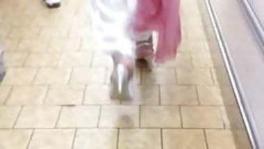 Candid sexy classy  hijab heels