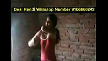 Desi randi banged by her client in her village