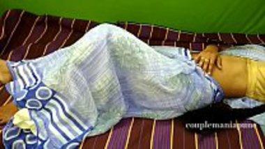 Sexy maid of Orissa having a hot saree sex