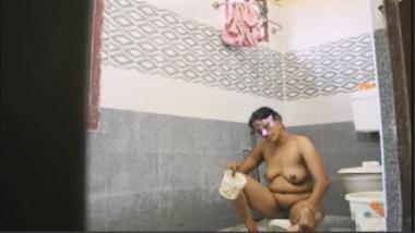 Sexy Kannada Bhabhi Having A Shower