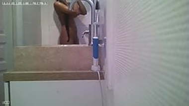 Indian Beauty in shower spy cam