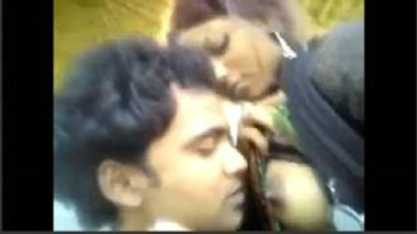 Sucking Boobs Of Desi Village Girl In Open