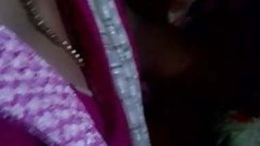 Tamil hot young teacher boobs cleavage and grouped in bus