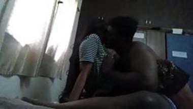 Desi kiss and boob press