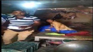 Jija Sali Sex Inside Shop Caught By Customer