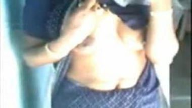 Shy And Hot Telugu Bhabhi Stripping Saree For Lover