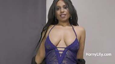 Indian Aunty Horny Lily Having Romantic Sex With Nephew