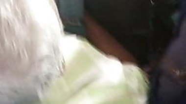 tamil hot big boobed college girl teasing oldman in bus:2